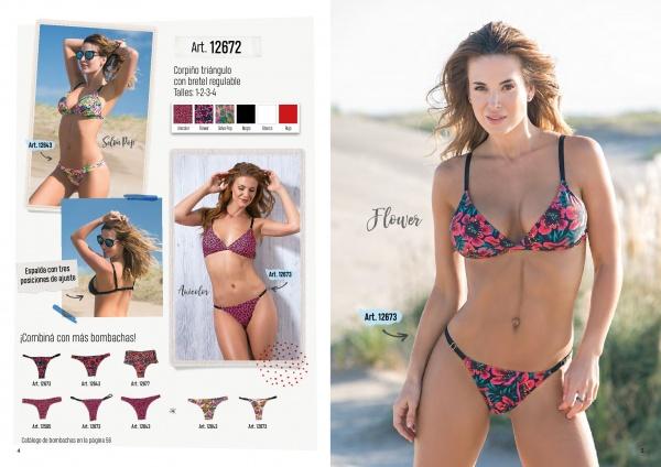 bikini estampadas verano 2019 - Cocot