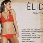 bikini roja con tiras anchas Eldia verano 2019