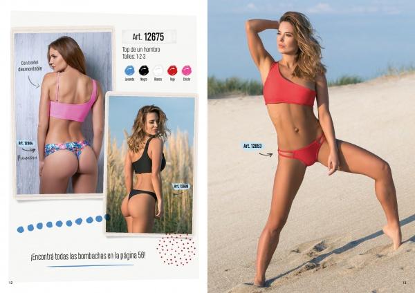 bikini un solo hombro verano 2019 - Cocot