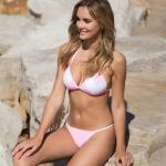 bikinis blanca y fucsia verano 2019 Sunsea Bikinis