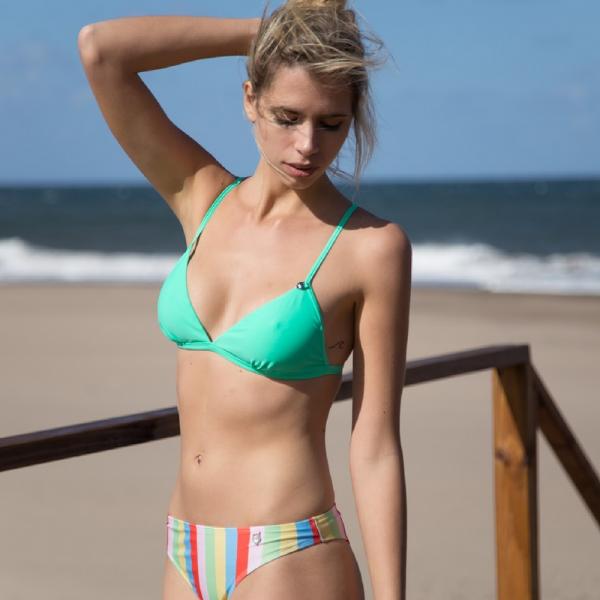 malla a rayas multicolor verano 2019 - Sunsea Bikinis
