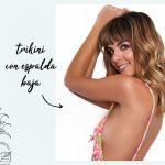 trikini estampada espalda baja verano 2019 La Caprichosa
