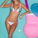 Bikini bordada con animales verano 2019 Promesse