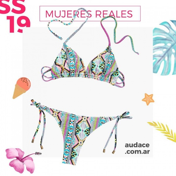 bikini estampado etnico verano 2019 - Audace