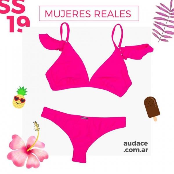 bikini fucsia verano 2019 - Audace