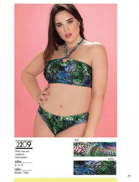 bikini talles grandes Yamiel verano 2019