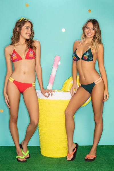 bikinis bordadas con frutas verano 2019 - Promesse