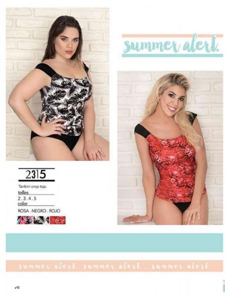 tankinis en talles reales Yamiel verano 2019