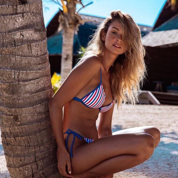 Bikini a rayas verano 2019 - Guadalupe Cid