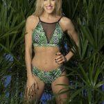 bikini verde estampada verano 2019 Natubel