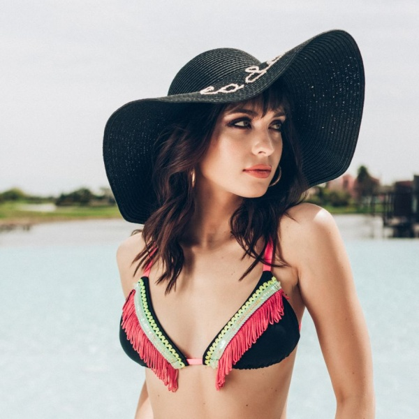 bikinis con flecos verano 2019 Loviu