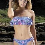 bikini bando floreada verano 2019 Marcela koury