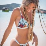bikini blanca estampada verano 2019 Anna Bikini