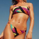 bikini estampado multicolor verano 2019 Odisea Swimwear