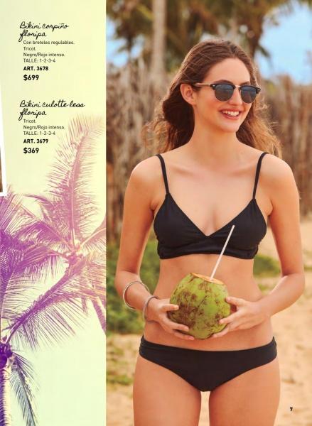 bikini negra verano 2019 Wineem