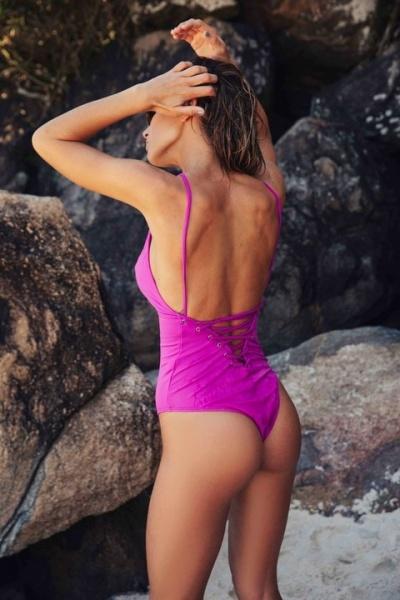 malla enteriza purpura verano 2019 Odisea Swimwear
