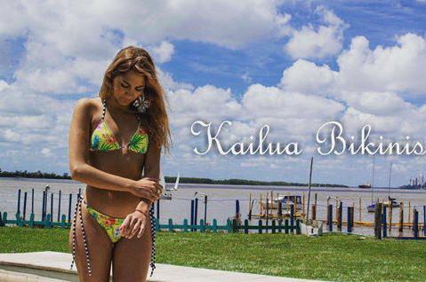 Kailua Bikinis estampadas verano 2020