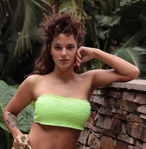 Bikini bando frunzido verano 2020 Compania de sol