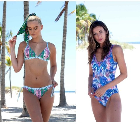 bikini estampada verano 2020 Swim days