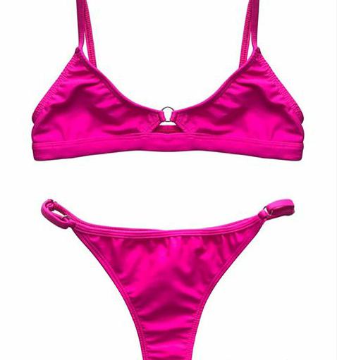 bikini fucsia verano 2020 Love Africa