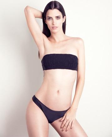 bikini negra bando verano 2020 La flor de lavanda