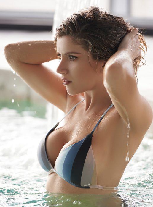 bikini a rayas verano 2020 Kaury