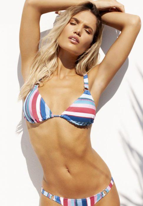 bikini a rayas verano 2020 Sweet Lady