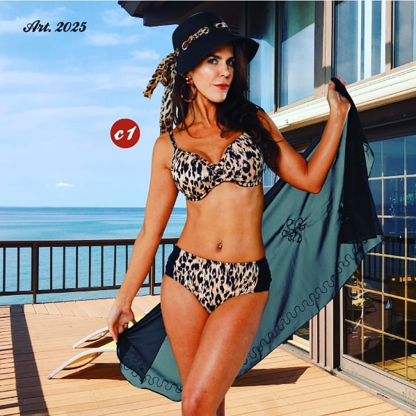 bikini animal print para señoras verano 2020 Sabbia Di Mare