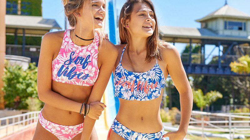 bikini con top para adolescente verano 2020 Tutta la Frutta