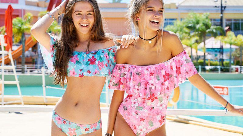 bikini estampas romanticas de flores para adolescentes verano 2020 Tutta la Frutta