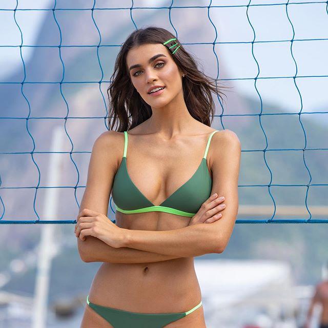 bikini tonos verdes Andressa verano 2020