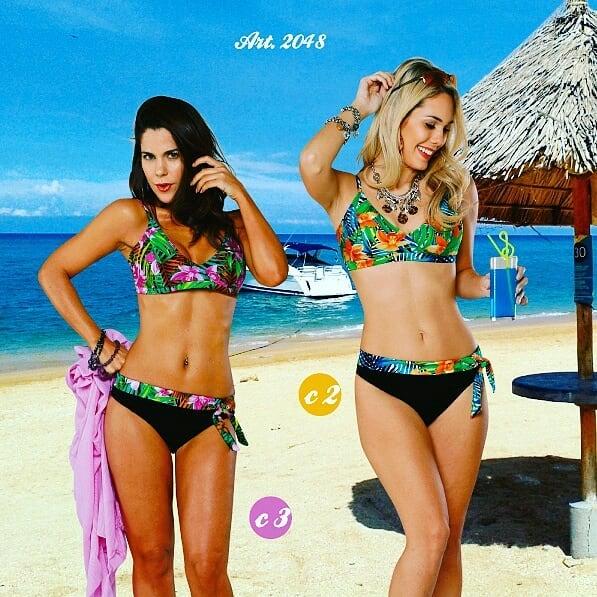 bikinis floreada para señoras verano 2020 Sabbia Di Mare