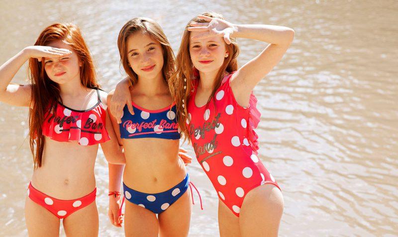 mallas para adolescentes a lunares verano 2020 Tutta la Frutta