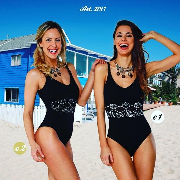 trajes de baño enterizo para señoras verano 2020 Sabbia Di Mare