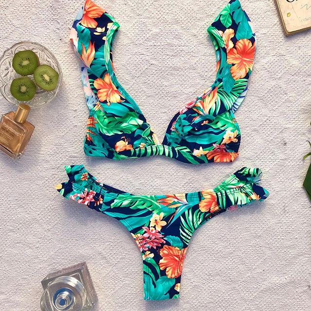 bikini estampa selvatica verano 2020 Lete Bikinis