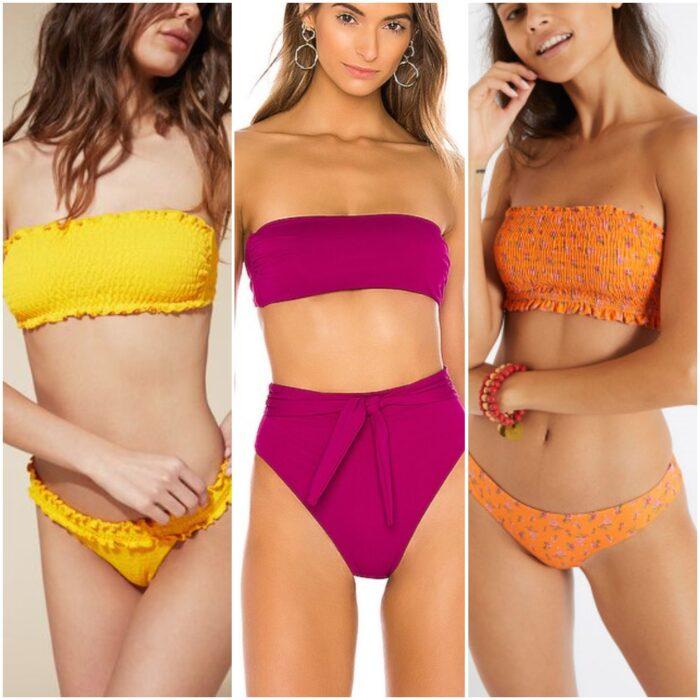 Bikinis bando moda verano 2021