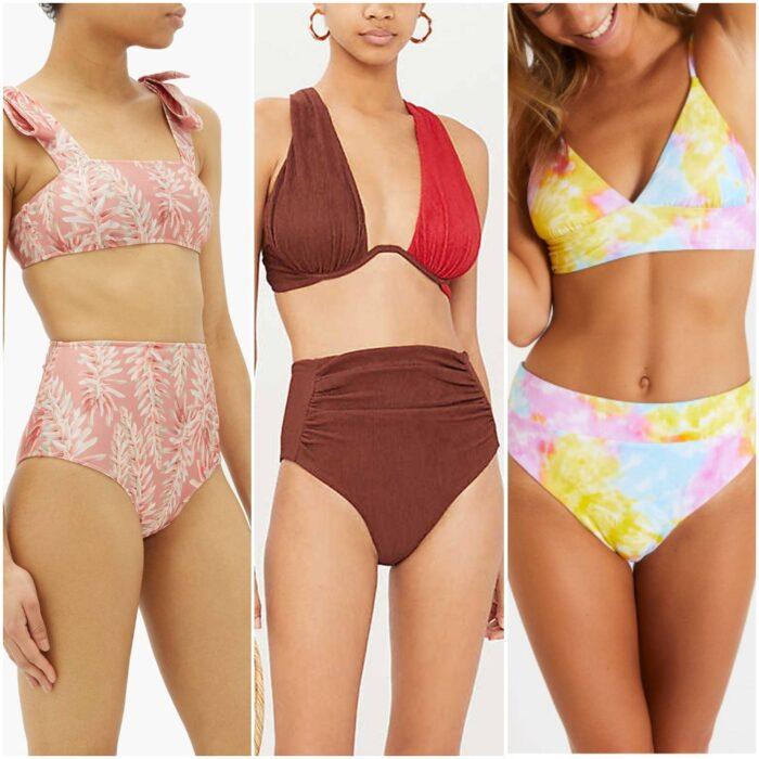 Bikinis talle alto moda verano 2021