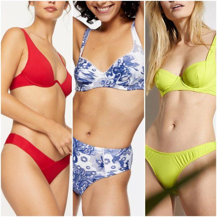 bikinis con aro moda verano 2021