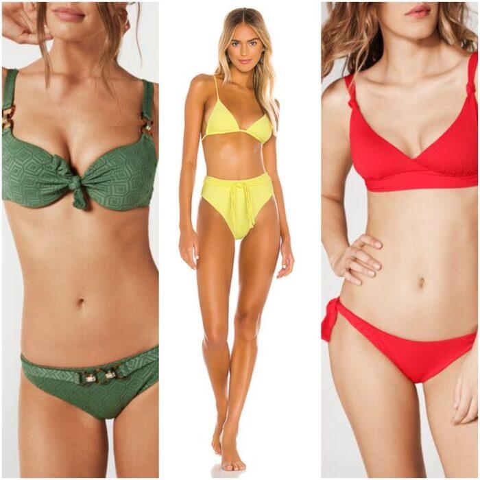 bikinis con nudos moda verano 2021