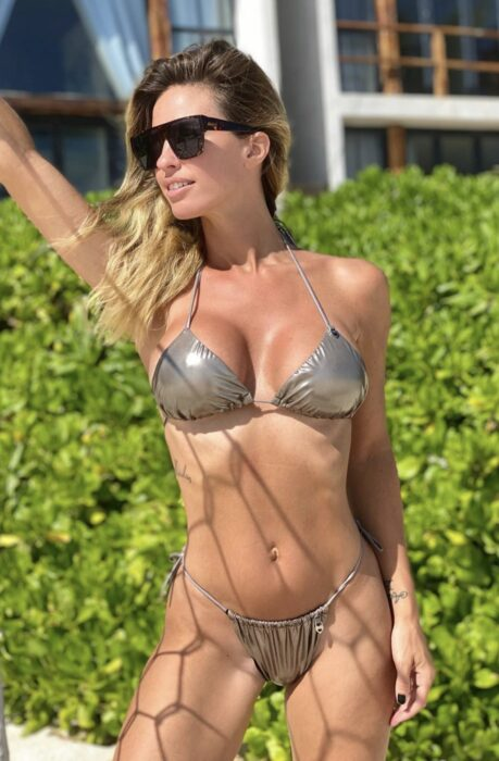 Micro Bikini triangulo metalizada verano 2021 Sunsea