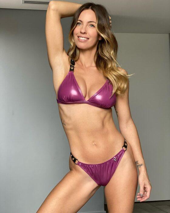Sunsea bikini engomada purpura verano 2021 Argentina