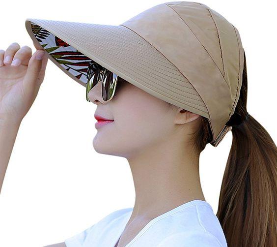 gorra con vicera ancha para mujer verano 2021