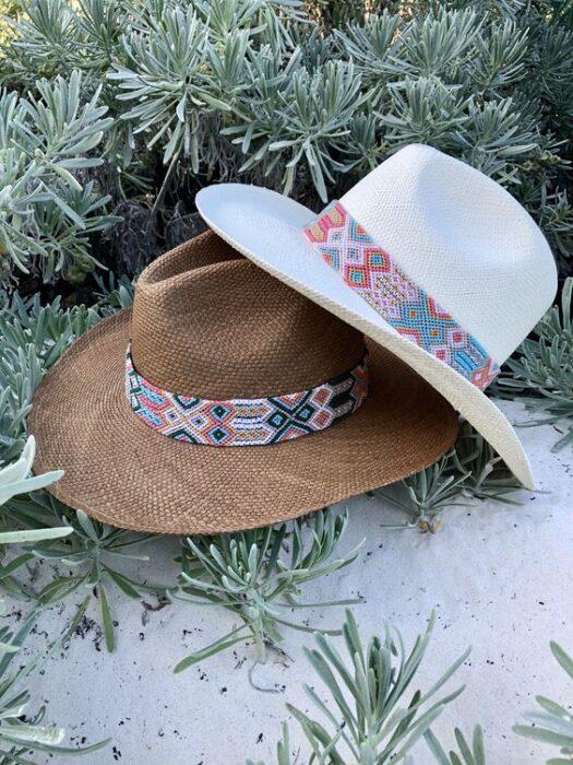 sombrero con tejido artesanal verano 2021 playa