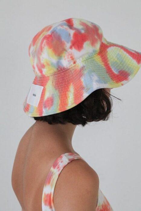 sombrero cubo o bucket batick verano 2021