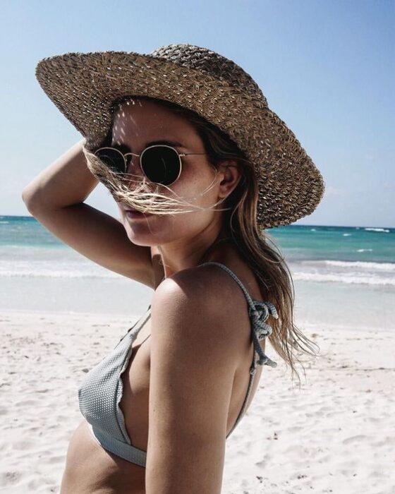 sombrero de paja verano 2021