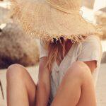 Sombreros de moda para playa verano 2021