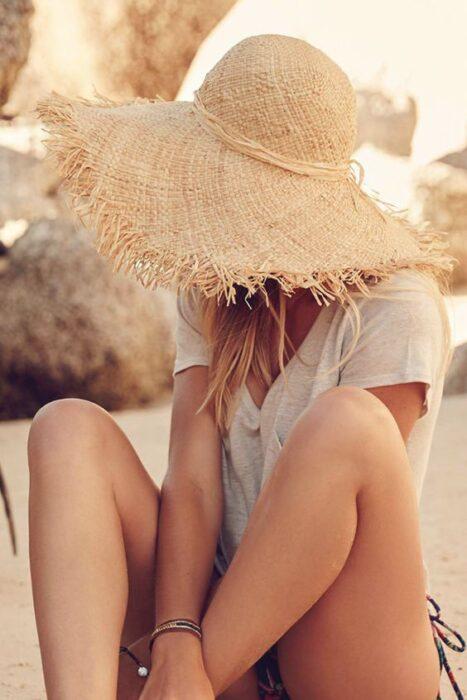 sombrero para plya de rusticos verano 2021
