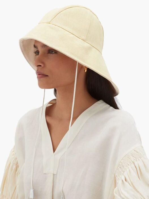 sombrero tipo pescador para mujer verano 2021
