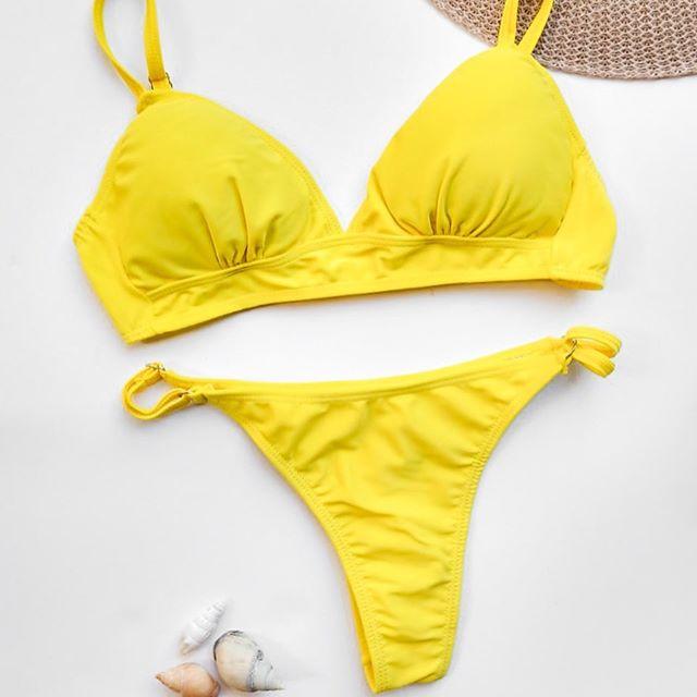 Bikini amarilla verano 2021 Amaringa