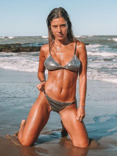bikini metalizada verano 2021 Love Africa